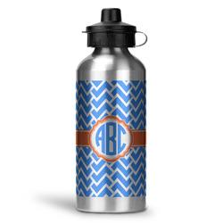 Zigzag Water Bottle - Aluminum - 20 oz (Personalized)