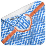 Zigzag Baby Hooded Towel (Personalized)