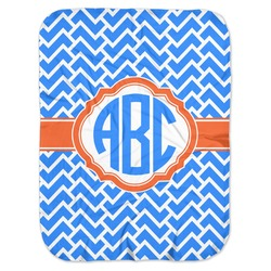 Zigzag Baby Swaddling Blanket (Personalized)