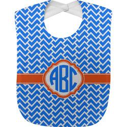 Zigzag Baby Bib (Personalized)