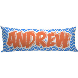 Zigzag Body Pillow Case (Personalized)