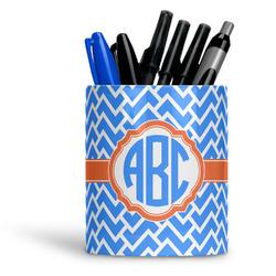 Zigzag Ceramic Pen Holder