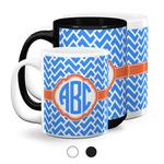 Zigzag Coffee Mugs (Personalized)