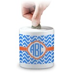Zigzag Coin Bank (Personalized)