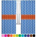 Zigzag Curtain (Personalized)