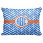 Zigzag Decorative Baby Pillowcase - 16