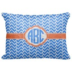 "Zigzag Decorative Baby Pillowcase - 16""x12"" (Personalized)"
