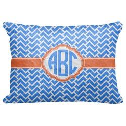 "Zigzag Decorative Baby Pillowcase - 16""x12"" (Personalized)"