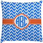 Zigzag Decorative Pillow Case (Personalized)
