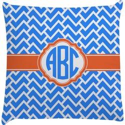 Zigzag Decorative Pillow Case (Personalized)
