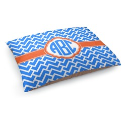Zigzag Dog Bed (Personalized)