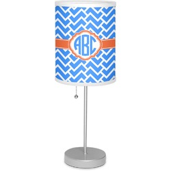 "Zigzag 7"" Drum Lamp with Shade (Personalized)"