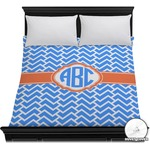 Zigzag Duvet Cover (Personalized)