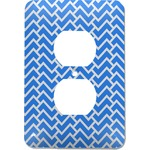 Zigzag Electric Outlet Plate (Personalized)