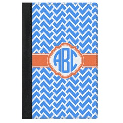 Zigzag Genuine Leather Passport Cover (Personalized)