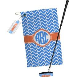 Zigzag Golf Towel Gift Set (Personalized)