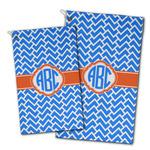 Zigzag Golf Towel - Full Print w/ Monogram