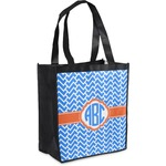 Zigzag Grocery Bag (Personalized)