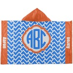 Zigzag Kids Hooded Towel (Personalized)