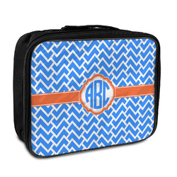 Zigzag Insulated Lunch Bag (Personalized)