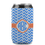 Zigzag Can Sleeve (12 oz) (Personalized)