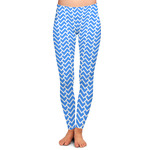 Zigzag Ladies Leggings (Personalized)