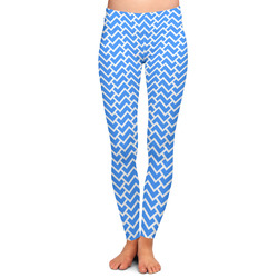 Zigzag Ladies Leggings - Extra Large (Personalized)