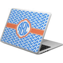 Zigzag Laptop Skin - Custom Sized (Personalized)