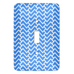 Zigzag Light Switch Covers - Multiple Toggle Options Available (Personalized)
