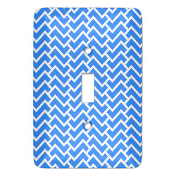 Zigzag Light Switch Covers (Personalized)