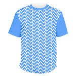 Zigzag Men's Crew T-Shirt (Personalized)