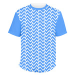 Zigzag Men's Crew T-Shirt (Personalized)