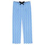 Zigzag Mens Pajama Pants (Personalized)