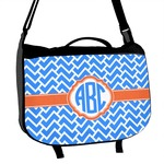 Zigzag Messenger Bag (Personalized)