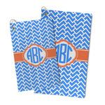 Zigzag Microfiber Golf Towel (Personalized)