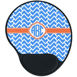Zigzag Mouse Pad with Wrist Support