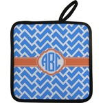 Zigzag Pot Holder (Personalized)