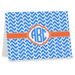 Zigzag Notecards (Personalized)