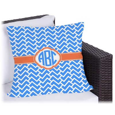 Zigzag Outdoor Pillow (Personalized)