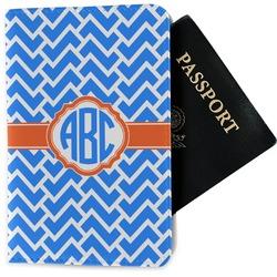 Zigzag Passport Holder - Fabric (Personalized)