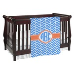 Zigzag Baby Blanket (Personalized)