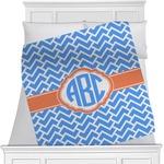 Zigzag Minky Blanket (Personalized)