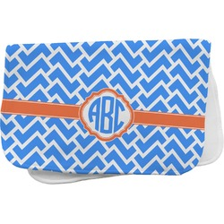 Zigzag Burp Cloth (Personalized)