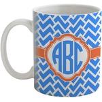 Zigzag Coffee Mug (Personalized)