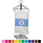 Zigzag Finger Tip Towel (Personalized)