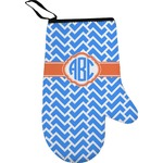 Zigzag Right Oven Mitt (Personalized)