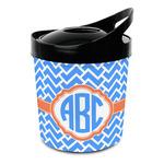 Zigzag Plastic Ice Bucket (Personalized)