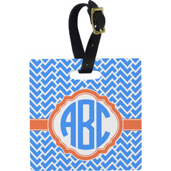 Zigzag Luggage Tags (Personalized)