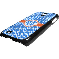 Zigzag Plastic Samsung Galaxy 4 Phone Case (Personalized)