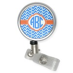 Zigzag Retractable Badge Reel (Personalized)